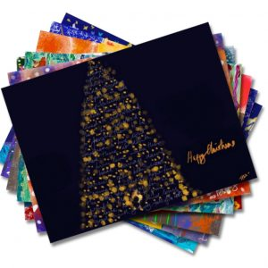 cartes de Noël, paquet de 10 assorties
